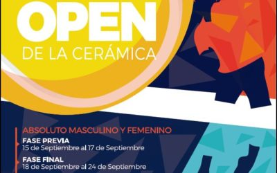 XXXII Open de la Cerámica. Categoría Absoluto Masculino/Femenino