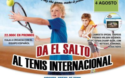 Segundo fin de semana de Champions bowl en el Club de Tenis el Collao