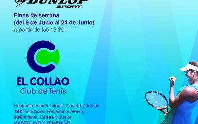 I Open DUNLOP en el Club de Tenis el Collao