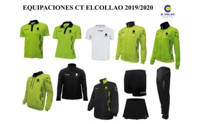 Nuevas equipaciones del Club de Tenis elCollao