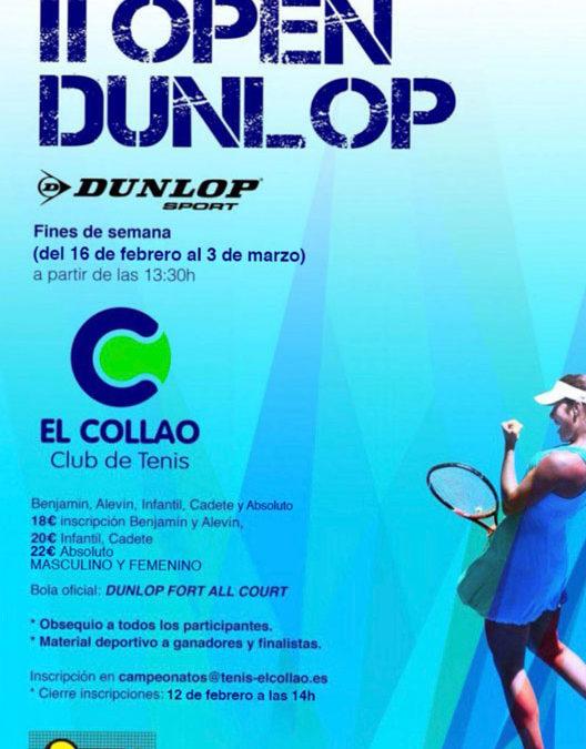 II Open Dunlop