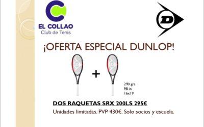 OFERTAS ESPECIALES DUNLOP PARA SOCIOS
