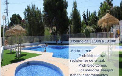 Apertura piscina