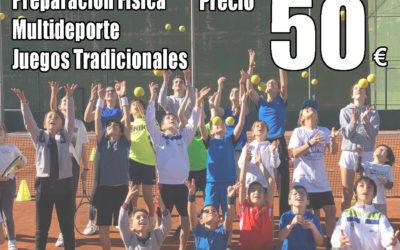 Campus de Fallas 2020 en el Club de Tenis el Collao.